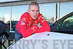 Killarney Raly Driver Paul Nagle who is sponsored by Citroen visited Billy Naughtons garage, Tralee on Monday.