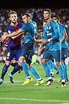 Supercopa de Espa&ntilde;a - Ida.<br /> FC Barcelona vs R. Madrid: 1-3.<br /> Ivan Rakitic, Bale &amp; Cristiano Ronaldo.