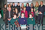 STUDENTS AWARDS: The students of Causeway Comprehensive school at the Kerry Education Student Awards at IT Tralee on Friday..
