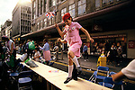 Silver Jubilee celebrations, London 1977.Uk oxford street street party. London