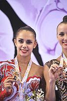 September 25, 2014 - Izmir, Turkey - RITA MAMUN of Ukraine wins gold in EF at 2014 World Championships.