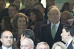 Spanish Royals during Real Madrid's against Atletico de Madrid's spanish KIng's Cup Final match.May 17,2013. (ALTERPHOTOS/Acero)