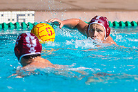 Stanford, California - November 16, 2019:<br /> Stanford Men's Water Polo v UCLA at the Avery Aquatic Center. Senior Day. Stanford won 17-11.<br /> Stanford, California - November 16, 2019:<br /> Stanford Men's Water Polo v UCLA at the Avery Aquatic Center.   Senior Day. Stanford won 17-11.