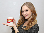"Audrey Cardwell attends the Meet the Cast of  ""Falsettos"" during the rehearsal media day at the New Ripley Grier on January 25, 2019 in New York City."