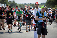 Green Jersey Peter Sagan (SVK/Bora-Hansgrohe) on his way to the podium<br /> <br /> Stage 4: La Baule &gt; Sarzeau (192km)<br /> <br /> 105th Tour de France 2018<br /> &copy;kramon
