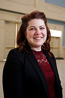 Jessica Pantana from the School of Business is pictured on January 19, 2018. (Photo by Jessie Rogers)