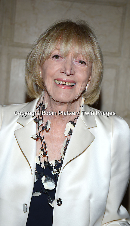 honoree Mary Wells Lawrence  attends the New York Landmarks Consevancy's 20th Annual Living Landmarks Celebration on November 14, 2013 at the Plaza Hotel in New York City.