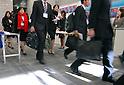 College students attend a job fair held in Tokyo. 16 December, 2009. (Taro Fujimoto/JapanToday/Nippon News)