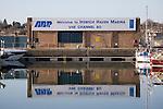 Ipswich Haven marina VHF radio channel, Wet Dock marina, Ipswich, Suffolk, England