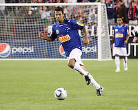 Brazil's Cruzeiro beat the New England Revolution, 3-0 in a friendly match at Gillette Stadium on June 13, 2010