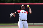 RALEIGH, NC - MAY 07: NC State's Tyler Ross. The North Carolina State University Wolfpack hosted the University of Louisville Cardinals on May 7, 2017, at Dail Softball Stadium in Raleigh, NC in a Division I College Softball game. Louisville won the game 7-0.