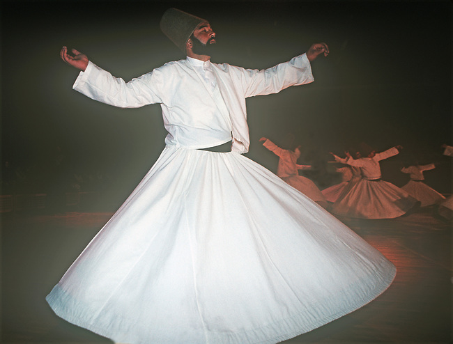 Whirling Dervishes, Konya, Turkey