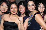 Dosca Lucente, Bernie Ijon, Jenny Demetria, Joy Lavina and Connie Geronimo pictured at Mary Jane Posadas's 40th birthday in Brú. Photo: Colin Bell/pressphotos.ie