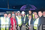 Politicians and members of the local community gathered to see Health Minister, James O'Reilly, turn the sod on Kenmare Hospital on his visit to Kerry last Friday.