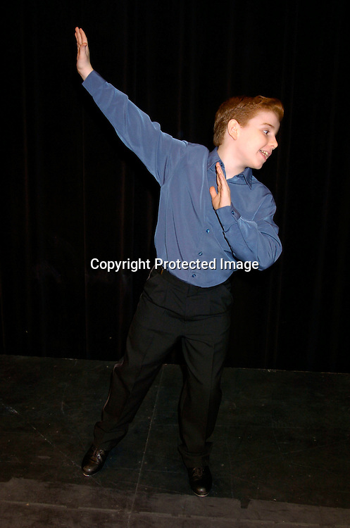 "Mitchell David Federan, Petey Cortland on All My Children singing and dancing..at the Musicals Tonight performance of ""A Celebration of ..Daytime Stars"" on March 21, 2004 at the 14th Street Ymca. ..in New York City. ..Photo by Robin Platzer, Twin Images"