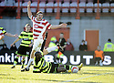 30/01/2010  Copyright  Pic : James Stewart.sct_jspa11_hamilton_v_celtic  .::  CELTIC GET A PENALTY AFTER MARC ANTOINE FORTUNE IS BROUGHT DOWN IN THE BOX :: .James Stewart Photography 19 Carronlea Drive, Falkirk. FK2 8DN      Vat Reg No. 607 6932 25.Telephone      : +44 (0)1324 570291 .Mobile              : +44 (0)7721 416997.E-mail  :  jim@jspa.co.uk.If you require further information then contact Jim Stewart on any of the numbers above.........