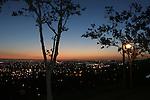 Hayward at dusk