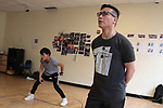 BD Wong, Ned Eisenberg, Ali Ahn and Tony Vo in Lauren Yee's THE GREAT LEAP Rehearsal 5/17/18