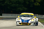10 August 2007: The Tafel Racing Porsche 911 GT3 RSR driven by Jim Tafel and Dominik Farnbacher at the Generac 500 at Road America, Elkhart Lake, WI
