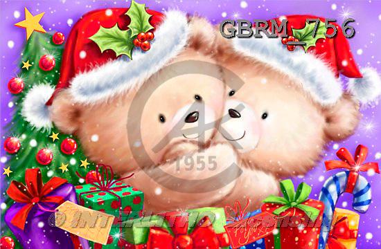 Roger, CHRISTMAS ANIMALS, paintings+++++,GBRM756,#XA#