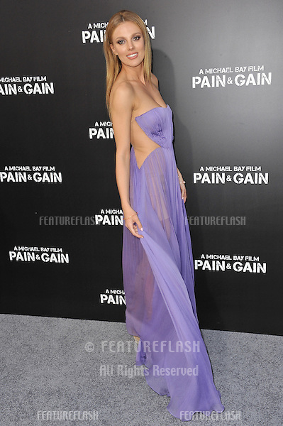 "Bar Paly at the Los Angeles premiere of her movie ""Pain & Gain"" at the Chinese Theatre, Hollywood..April 22, 2013  Los Angeles, CA.Picture: Paul Smith / Featureflash"