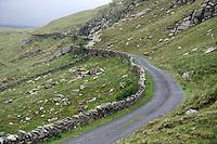 Tawnyard Pass, Sheeffry Hills, County Mayo, Ireland.