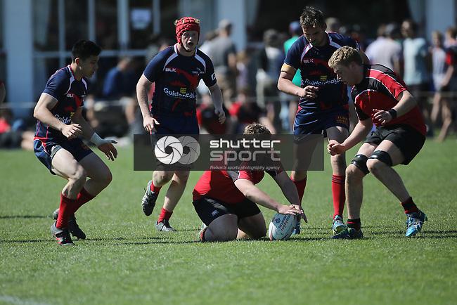 NELSON, NEW ZEALAND - SEPTEMBER 22: Mako U18 v Canterbury  Jubilee Park on September 22 2018 in  Nelson, New Zealand. (Photo by: Evan Barnes Shuttersport Limited)