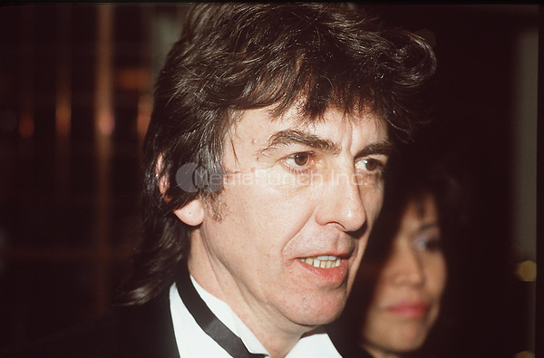 GEORGE HARRISON<br /> British Pop Musician<br /> Member of The Beatles<br /> COMPULSORY CREDIT:Starstock/Photoshot/MediaPunch<br /> CMS 248657   22.03.1987 ** North America Only***