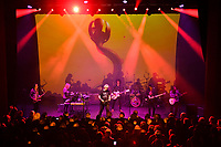 LONDON, ENGLAND - JUNE 8: Steve Hillage, Kavus Torabi, Dave Sturt and Fabio Golfetti of 'The Steve Hillage Band' performing at Shepherd's Bush Empire on June 8, 2019 in London, England.<br /> CAP/MAR<br /> ©MAR/Capital Pictures