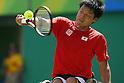 Shingo Kunieda (JPN),<br /> SEPTEMBER 13, 2016 - Wheelchair Tennis : <br /> Men's Singles Quater-Final<br /> at Olympic Tennis Centre<br /> during the Rio 2016 Paralympic Games in Rio de Janeiro, Brazil.<br /> (Photo by Shingo Ito/AFLO)