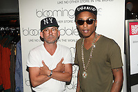 NEW YORK, NY - SEPTEMBER 6: Pharrell Williams and Mark McNairy  attend Fashion's Night Out at Bloomingdale's  in New York City, NY. September 6, 2012. © Diego Corredor/MediaPunch Inc.