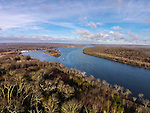 Connecticut River from 200'