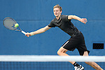 22 March 2015: Wake Forest Christian Seraphim (DEU). The Duke University Blue Devils hosted the Wake Forest University Demon Deacons at Ambler Stadium in Durham, North Carolina in a 2014-15 NCAA Division I Men's Tennis match. Duke won the match 4-3.
