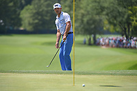 Billy Horschel (USA) nearly chips in on 8 during 3rd round of the 100th PGA Championship at Bellerive Country Club, St. Louis, Missouri. 8/11/2018.<br /> Picture: Golffile | Ken Murray<br /> <br /> All photo usage must carry mandatory copyright credit (&copy; Golffile | Ken Murray)