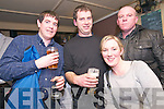 Niall Kennedy, Derek O'Connor, Micheal O'Connor and Marie Lynch at the 1997 Class Dingle Reunion at McCarthy's, Dingle, on Thursday night...