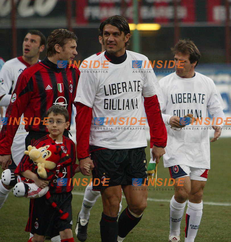 Milano 19/2/2005 Campionato Italiano Serie A 2004/2005<br />