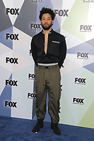 NEW YORK, NY - MAY 14: Jussie Smollett at the 2018 Fox Network Upfront at Wollman Rink, Central Park on May 14, 2018 in New York City.  <br /> CAP/MPI/PAL<br /> &copy;PAL/MPI/Capital Pictures