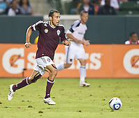 CARSON, CA – September 9, 2011: Colorado Rapid Pablo Mastroeni (25) during the match between LA Galaxy and Colorado Rapids at the Home Depot Center in Carson, California. Final score LA Galaxy 1, Colorado Rapids 0.