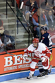 Charlie Coyle (BU - 3), Matt Walters (Toronto - 11) - The Boston University Terriers defeated the visiting University of Toronto Varsity Blues 9-3 on Saturday, October 2, 2010, at Agganis Arena in Boston, MA.