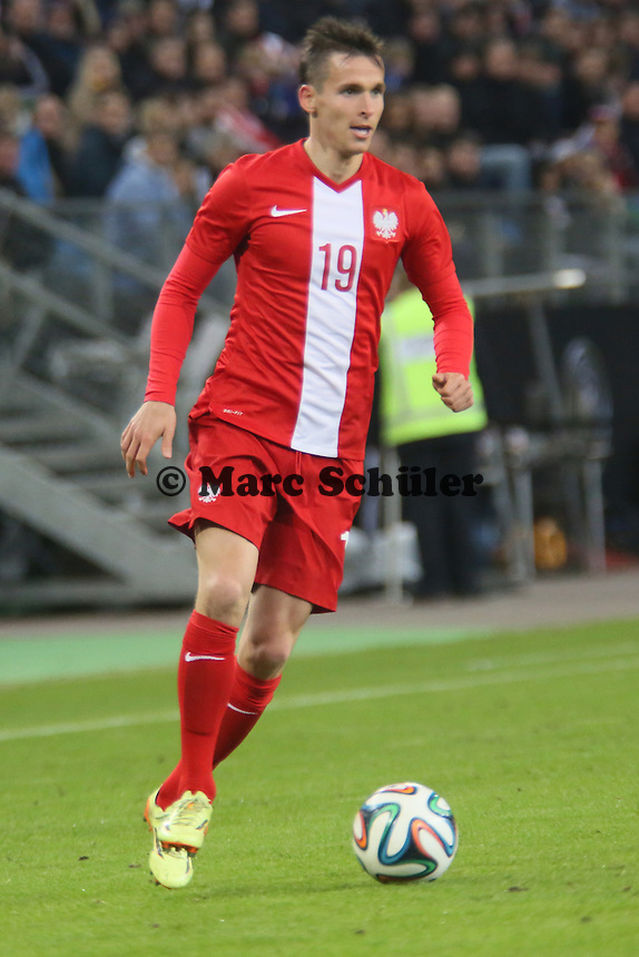 PAvel Olkowski (PL) - Deutschland vs. Polen, WM-Vorbereitung Testspiel, Imtech Arena Hamburg