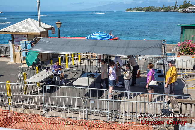 Security Checks At Lahaina Harbor
