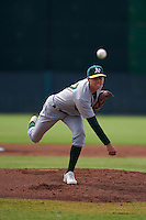 Oakland Athletics pitcher Dakota Chalmers (37) during an instructional league game against the San Francisco Giants on October 12, 2015 at the Giants Baseball Complex in Scottsdale, Arizona.  (Mike Janes/Four Seam Images)