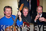 Providing the music at the new year celebrations in Browne's bar Ballyduff were Tom Sheehy, Frank Whelan and Chris Burke...