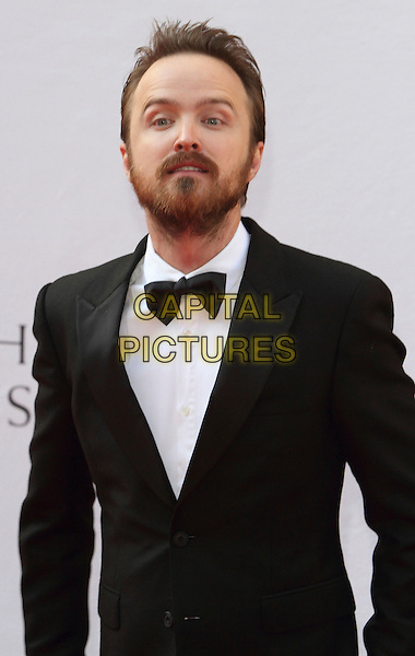 LONDON, ENGLAND - MAY 18: Aaron Paul attends the Arqiva British Academy Television Awards at the Theatre Royal Drury Lane on May 18, 2014 in London, England.<br /> CAP/ROS<br /> &copy;Steve Ross/Capital Pictures