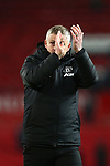 Ole Gunnar Solskjaer, manager of Manchester United during the Premier League match at Old Trafford, Manchester. Picture date: 1st December 2019. Picture credit should read: Phil Oldham/Sportimage
