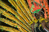 The Notting Hill Carnival costume preview at Alexandra Palace, North London, usually takes place one week before the carnival parades.