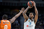 Real Madrid Trey Thompkins during Turkish Airlines Euroleague match between Real Madrid and Valencia Basket at Wizink Center in Madrid, Spain. December 19, 2017. (ALTERPHOTOS/Borja B.Hojas)