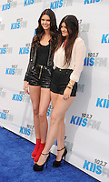 CARSON, CA - MAY 12: Kendall Jenner and Kylie Jenner attend 102.7 KIIS FM's Wango Tango at The Home Depot Center on May 12, 2012 in Carson, California. /NortePhoto.com<br />