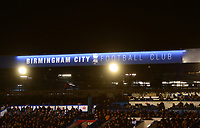 General View of St Andrews during the Sky Bet Championship match between Birmingham City and Sunderland at St Andrews, Birmingham, England on 30 January 2018. Photo by Bradley Collyer / PRiME Media Images.