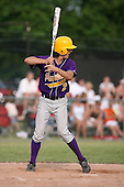 Richie Sepor of the Pavilion Golden Gophers during the Section V Class-C crossover game against the Keshequa Indians on June 3, 2007.  (Copyright Mike Janes Photography)
